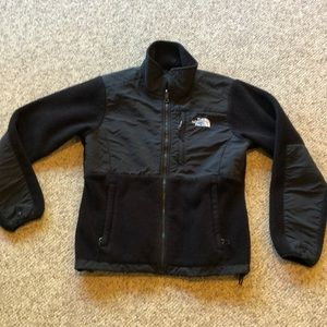 The North Face black Denali fleece Jacket sz S